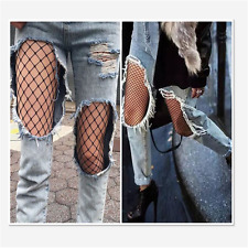 Sexy Women Black High Waist Fishnet Pantyhose Tight Lingerie One Size Stockings