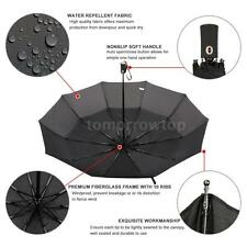 Folding Golf Umbrella  Auto Open/Close Umbrella  Double Canopy Windproof R6F3