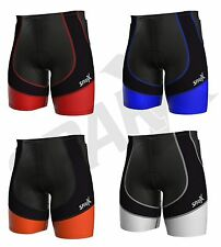 Sparx X Energy Compression Triathlon Short Tri Cycling Bike Swim Run Padded 7058