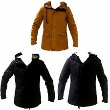 NEW Men's Jacket Winter Warm Hooded Casual Coat Quilted Lined Outwear SizeM-2XL.