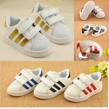 Boys Girls Non-Slip Casual Shoes Kids Children Flat Sneakers Sports Toddler Y1-6
