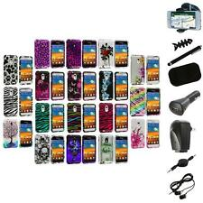 Design Hard Case Cover+8X Accessory for Samsung Epic Touch 4G Sprint Galaxy S2