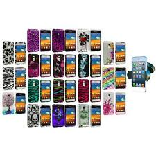 Design Case Cover+Windshield Mount for Samsung Epic Touch 4G Sprint Galaxy S2