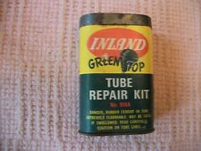 "VINTAGE INLAND TIRE ""GREEN TOP"" TIRE TUBE REPAIR-PATCH KIT-NICE"