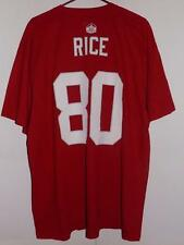San Francisco 49ers t shirt 2xl Jerry Rice name and number scarlet NWT