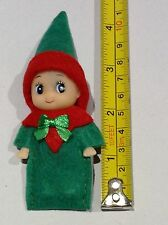 Baby Elf, Fab for on the shelf,  Green & Red, GORGEOUS, handmade