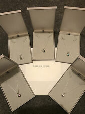 """Genuine 925 Solid Sterling Silver Necklace with """" I LOVE YOU OPEN HEART CHARM"""""""