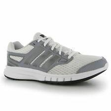 Adidas Galactic Elite Running Shoes Mens White/Grey/Black Trainers Sneakers