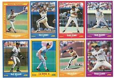 1988 Score Complete Team Set 23 Available Rookie Card RC Base Set 88