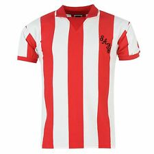 Sunderland AFC Retro 1973 Home Jersey Mens Red/White EPL Shirt Football Soccer