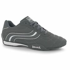 Lonsdale Camden Trainers Mens Grey/White Casual Sneakers Shoes Footwear