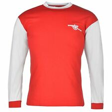 Arsenal FC 1971 Home Jersey Score Draw Mens Red/White Retro Football Soccer Top