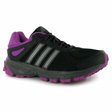 Adidas Duramo 5 Womens Trail Running Shoes Trainers Black Jogging Sneakers