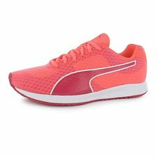 Puma Burst Running Shoes Womens Peach/Red Run Fitness Trainers Sneakers