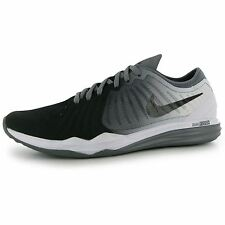 Nike Dual Fusion Print Running Shoes Womens Black/Wht Run Trainers Sneakers