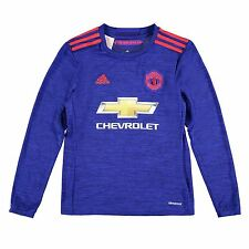 Adidas Manchester United FC Away Jersey 2016 2017 Juniors Football Soccer Shirt