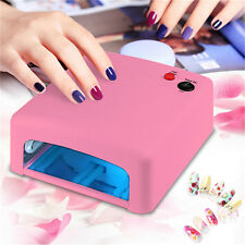 New 36W UV Nail Lamp Gel Curing Light Dryer + 4 Tube Art SPA Dryer Machine Aa