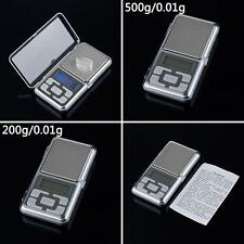 Digital LCD Electronic Jewelry Pocket Portable Gram Weight Balance Scale Beamy