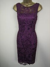 Adrianna Papell Illusion Party Evening Lace Dress  10 12 14 16 18 20