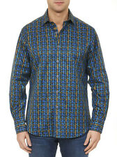 Robert Graham 'Melrose Abbey' Classic fit Jacquard Print Sport Shirt, XL, NWT