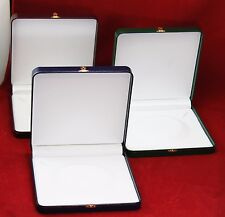 """Deluxe Large 8"""" Inch Jewelry Gift Box Leatherette Necklace Presentation 4 Colors"""