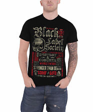 Black Label Society Destroy & Conquer Official Mens New Black T Shirt
