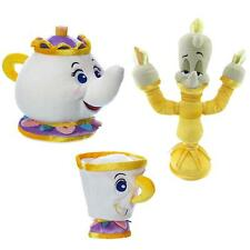 Beauty And The Beast Mrs Potts Chip Teapot Lumiere Plush Toy Stuffed Doll New