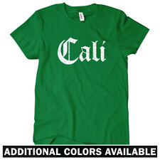 Cali Gothic Women's T-shirt S-2X Gift Los Angeles San Francisco Diego California