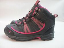 Womens Gelert Horizon Walking Hiking Grey Pink Lace Up Waterproof Boots