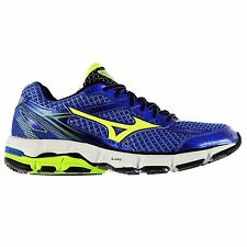 Mizuno Wave Connect 3 Running Shoes Mens Blue/Yel/Blk Sports Trainers Sneakers