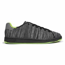 Lonsdale Leyton Knit Trainers Mens Black/Lime Sports Shoes Sneakers Footwear