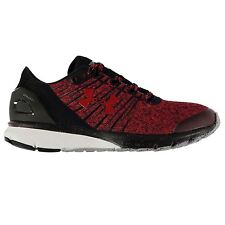 Under Armour Charged Bandit 2 Running Shoes Mens Red/Blk Sport Trainers Sneakers