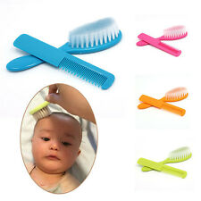 2Pcs/Set Baby Safety Soft Hair Brush Infant Comb Grooming Shower Design Pack Kit