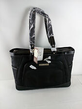 "Clark & Mayfield Sellwood Metro XL 17.3"" Laptop Tote Black"