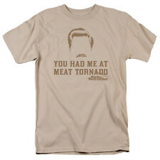 Parks & Recreation Ron Swanson You Had Me at MEAT TORNADO T-Shirt All Sizes