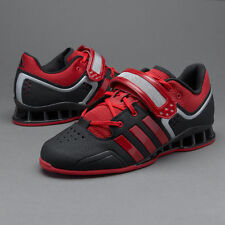 NEW MEN'S ADIDAS - M21865 ADIPOWER WEIGHTLIFTING WEIGHT LIFT SHOES MSRP $200 /