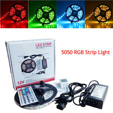 NonWaterproof 5050 RGB SMD 300 LED Flexible Strip Light + Remote + Adapter XL2