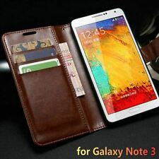 Vintage Wallet with Stand PU Leather Case for Samsung Galaxy Note 3 N9000 Flip S
