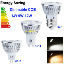 Lots LED 9W 12W 15W MR16 E27 GU10 Dimmable Cool Warm White LED Bulb Lamp Light
