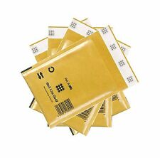 Mail Lite Padded Envelope Bubble Wrap Lined Postal Bags Gold A000 C0 D1 E2 F3