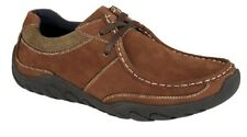 Mens Fashion Lace Up Shoes Roamers Leather Shoes