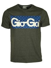 MENS BRAND NEW TSHIRT CREW NECK SHORT SLEEVE GIO-GOI CHARCOAL COLOUR RRP £24.99