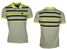MENS NEW POLO FORAY PROJECT SHORT SLEEVE IN GREY MARL COLOUR S M RRP £24.99
