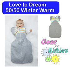 Love to Dream - 50/50 Winter Warm 2.5tog Zip Up Swaddle - Love To Dream™