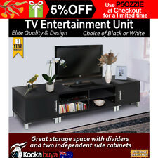 TV Stand Entertainment Unit Low line Cabinet Drawer 190cm