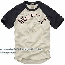 Abercrombie & Fitch vintage athletic t-shirts NWT authentic items
