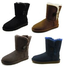 "UGG Australia Bailey Button 6"" Womens Shearling Lined Winter Boots"