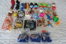 MCDONALDS HAPPY MEAL TOY FIGURES - MIXED LOT -32 Pieces Loose Disney Tarzan car