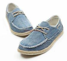 Mens Canvas Leisure Comfortable Breathable Summer Flats Loafers Casual Shoes #