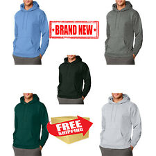 Hanes Big Mens Ultimate Heavyweight Fleece Pullover Hood Warm Jacket Outdoor New